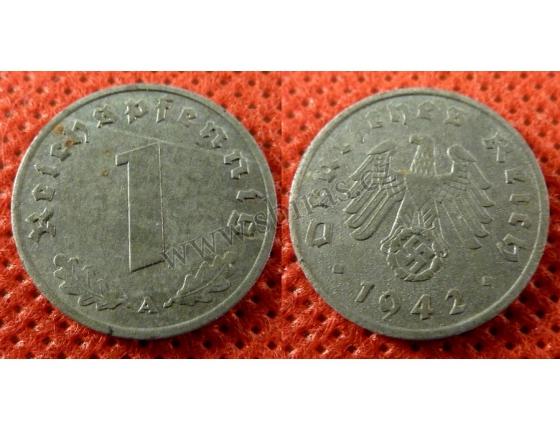 1 Reichspfennig 1942 A