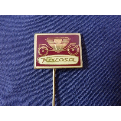 Karosa - odznak jehla