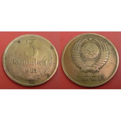 Sovětský svaz - 3 kopějky 1961