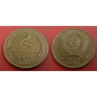 Sovětský svaz - 2 kopějky 1957
