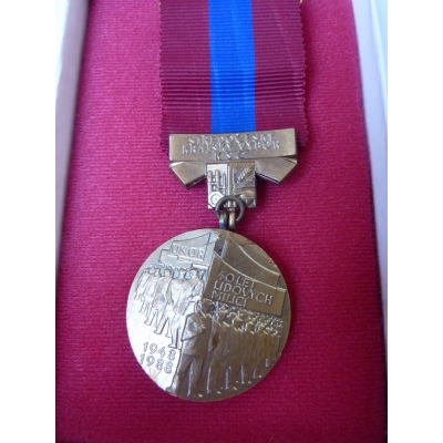 40 let lidových milicí - medaile v etui