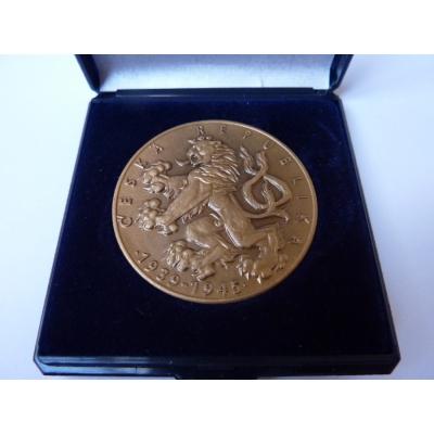 55. výročí konce 2. světové války - pamětní medaile v etui