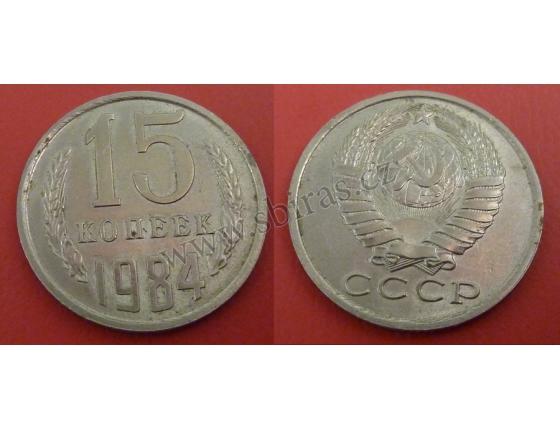 Sovětský svaz - 15 kopějek 1984