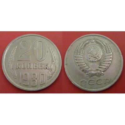 Sovětský svaz - 20 kopějek 1980