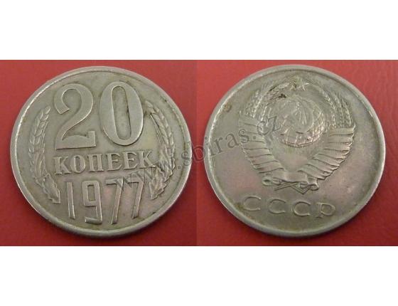 Sovětský svaz - 20 kopějek 1977