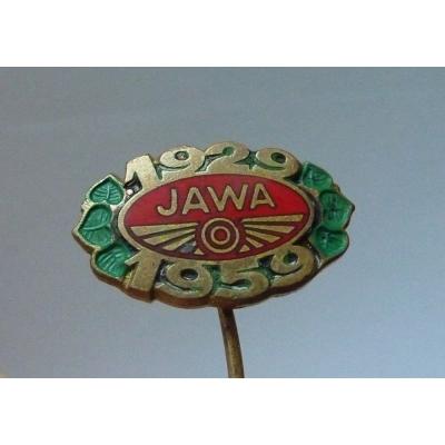 JAWA 1959 - odznak k 30. výročí značky