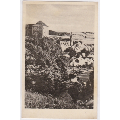 Bečov nad Teplou - pohlednice malý formát