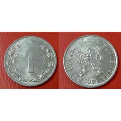 1 haléř 1957