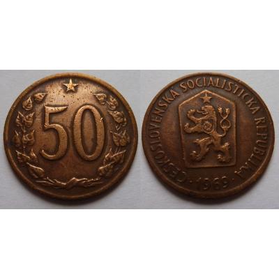 50 haléřů 1969