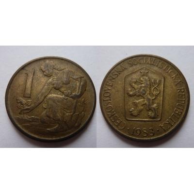 1 koruna 1983