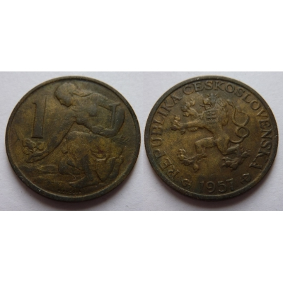 Czechoslovakia - Coin 1 Crown 1957