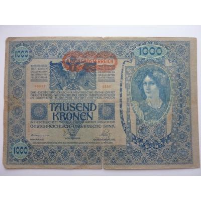 1000 korun 1902, 2. vydání