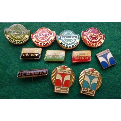 Jednota / Pramen sada odznaků