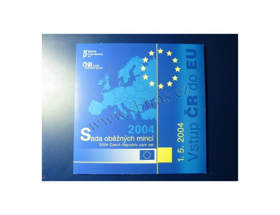 Sada oběžných mincí ke vstupu ČR do EU