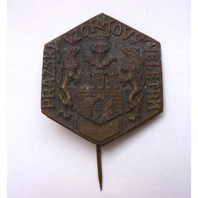 Pražský vzorkový veletrh, odznak jehla