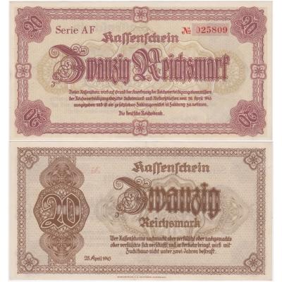 20 Reichsmark 1945