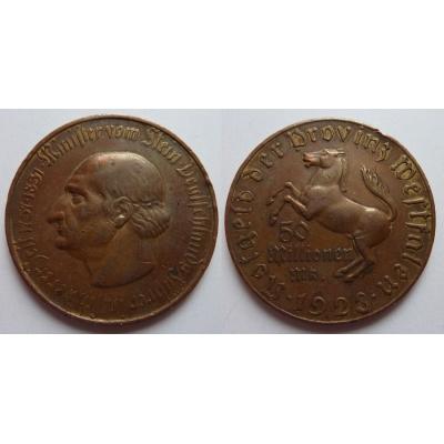 Německo - 50 Millionen Mark 1923