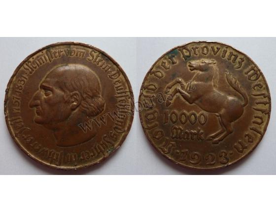 Německo - 10 000 Mark 1923