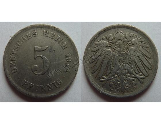 5 Pfennig 1914 A