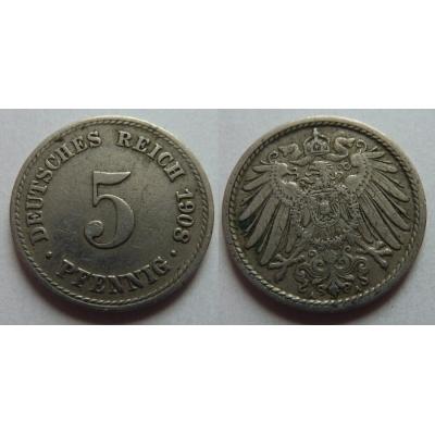 5 Pfennig 1908 A