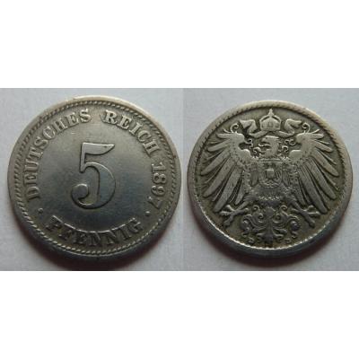 5 Pfennig 1897 A
