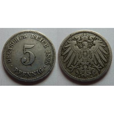 5 Pfennig 1898 A