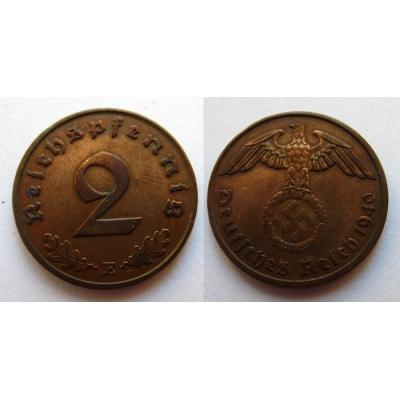 2 Reichspfennig 1940 E