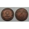2 Reichspfennig 1938 G