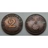 2 Reichspfennig 1939 B