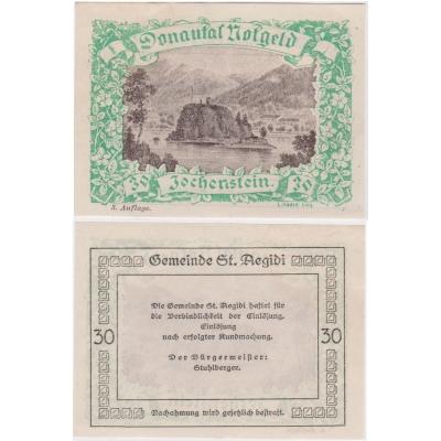 Rakousko - Notgeld 30 Haléřů Jochenstein