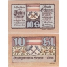 Rakousko - Notgeld 10 Haléřů Schwaz in Tirol 1921 UNC