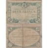 Francie - bankovka 2 franky 1915 Angouleme