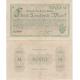 Německo - bankovka 5000 marek 1923 Gotha