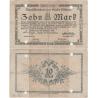 Německo - bankovka 10 Mark 1918 Altona