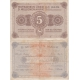 Německo - bankovka 5 millionen Mark 1923 Hannover