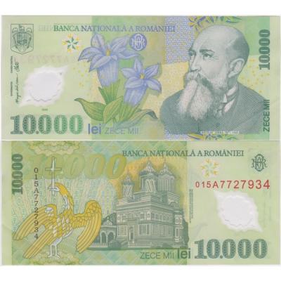 Rumunsko - bankovka 10 000 Lei 2000