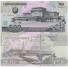 KLDR -bankovka 500 Won 2007 UNC