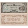 BARMA, Japonská okupace. 1 rupee 1942-44 aUNC