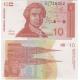 Chorvatsko - bankovka 10 Dinara 1991 UNC