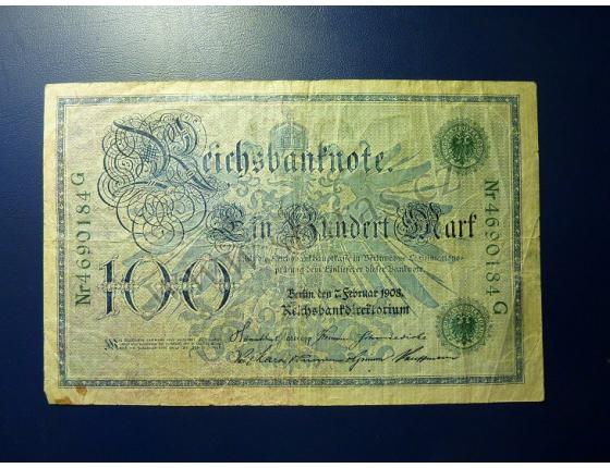 100 marek 1908