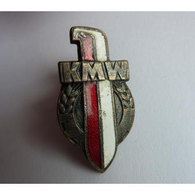 KMW Polsko - odznak šroubovací