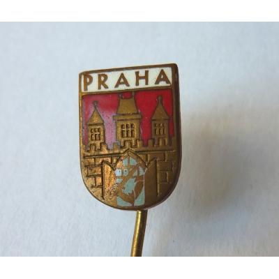 Praha - odznak smalt