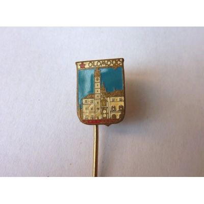 Olomouc - odznak smalt, Mincovna Kremnica