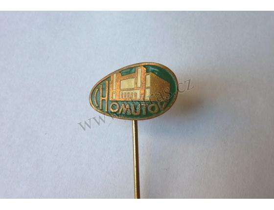 Chomutov - odznak smalt