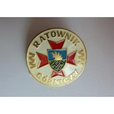 Ratownik Górniczy - čestný odznak báňské záchranné služby Polsko