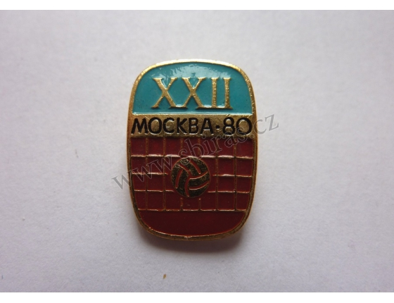 Moskva 1980 - Volejbal na Letních olympijských hrách 1980