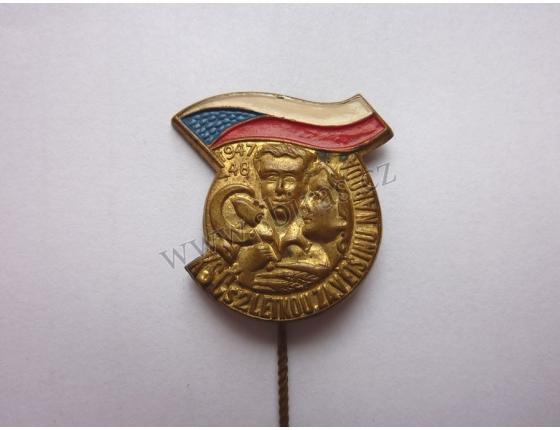 KSČ dvouletka 1947-1948