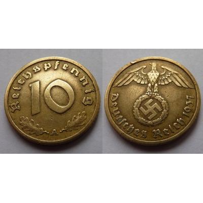10 Reichspfennig 1937 A