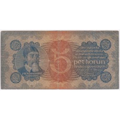 5 korun 1921, série 6