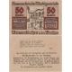 Rakousko - Notgeld Kassenschein 50 Haléřů 1920 aUNC